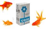 Лечение рыбок солью в аквариуме и правильная дозировка